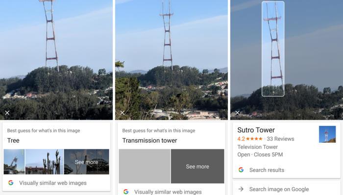 google lens sutro tower