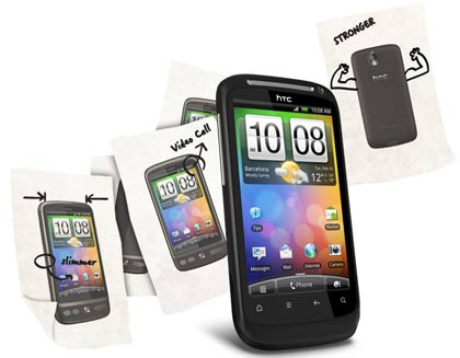 HTC Desire S vs. Samsung Galaxy S II: Smartphone showdown