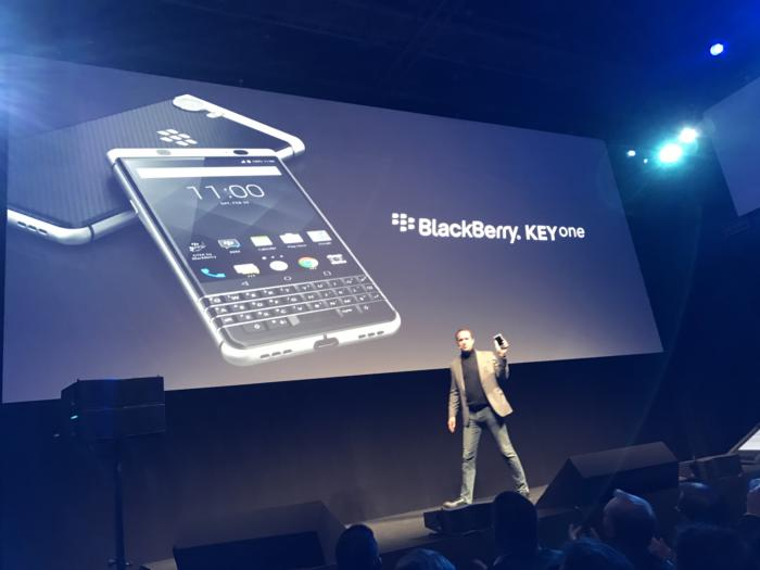 blackberry keyone announcement