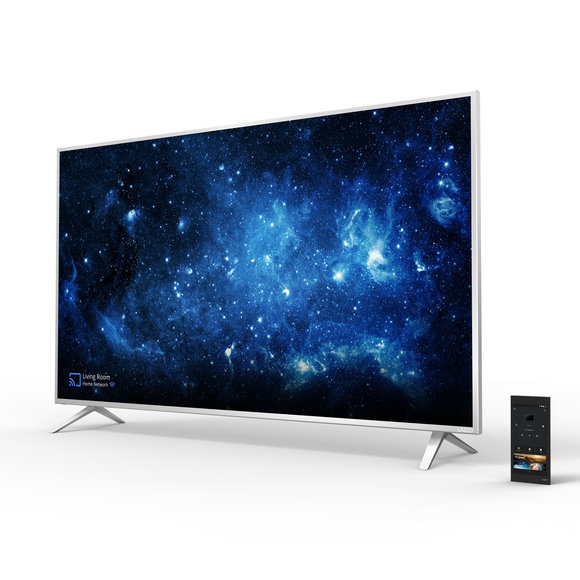 smartcast p series ultra hd high dynamic range home theater display w tablet remote hero