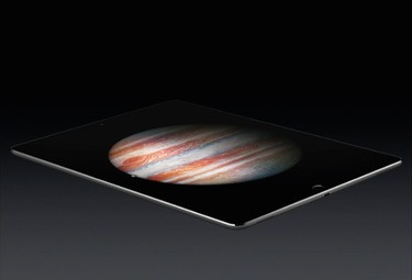 iPad Pro side view