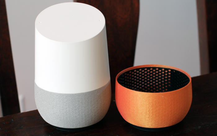 google home fabric bases