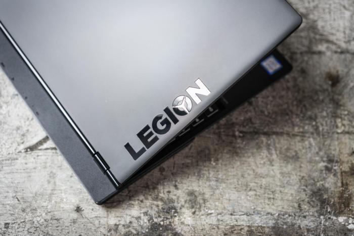 lenovo legion y530 lid detail