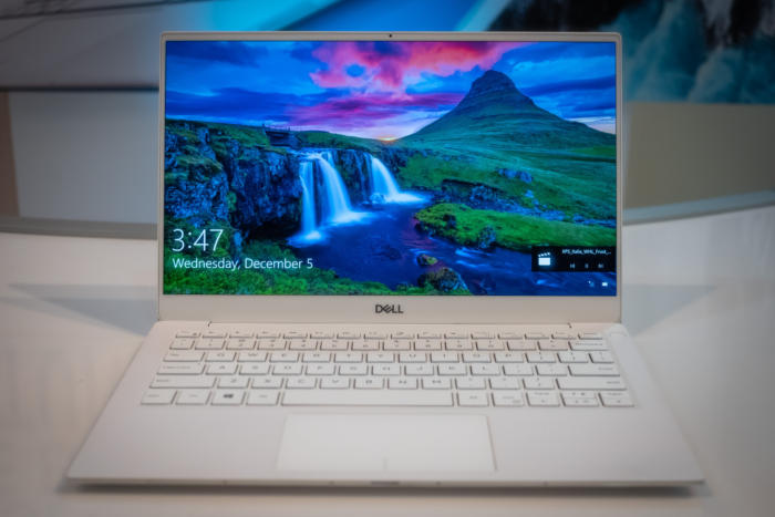 dell xps 13 9380 front