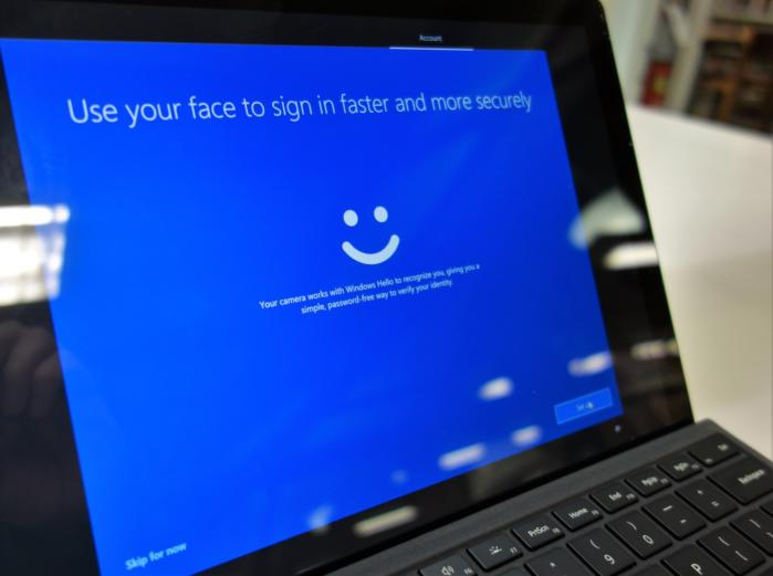 Windows 10 personalization oobe windows hello