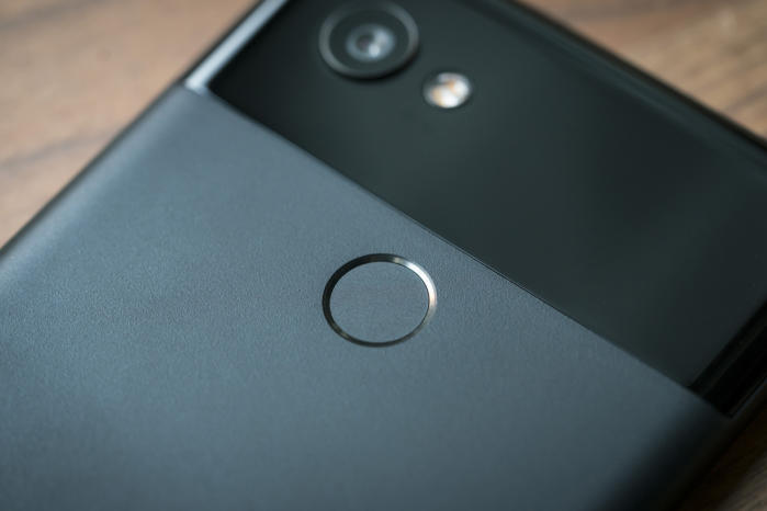 pixel 2 xl fingerprint sensor