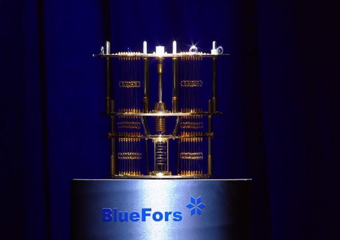 quantum computer bluefors