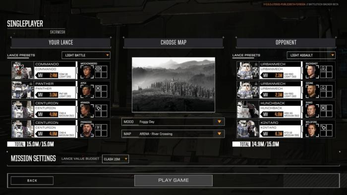 BattleTech - Beta