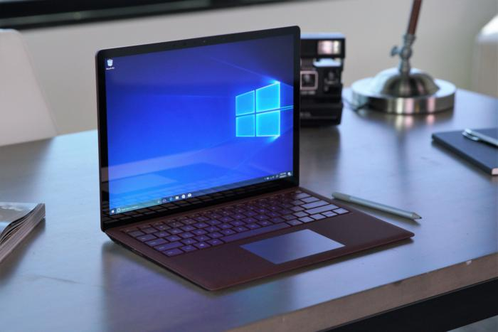 Microsoft surface laptop primary