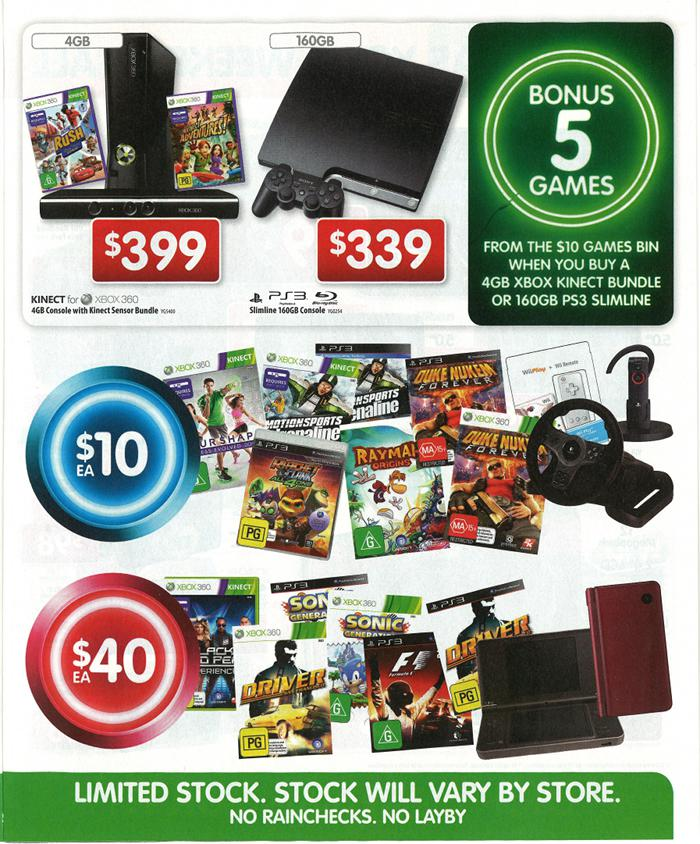 Dick Smith Electronics Game On sale brochure