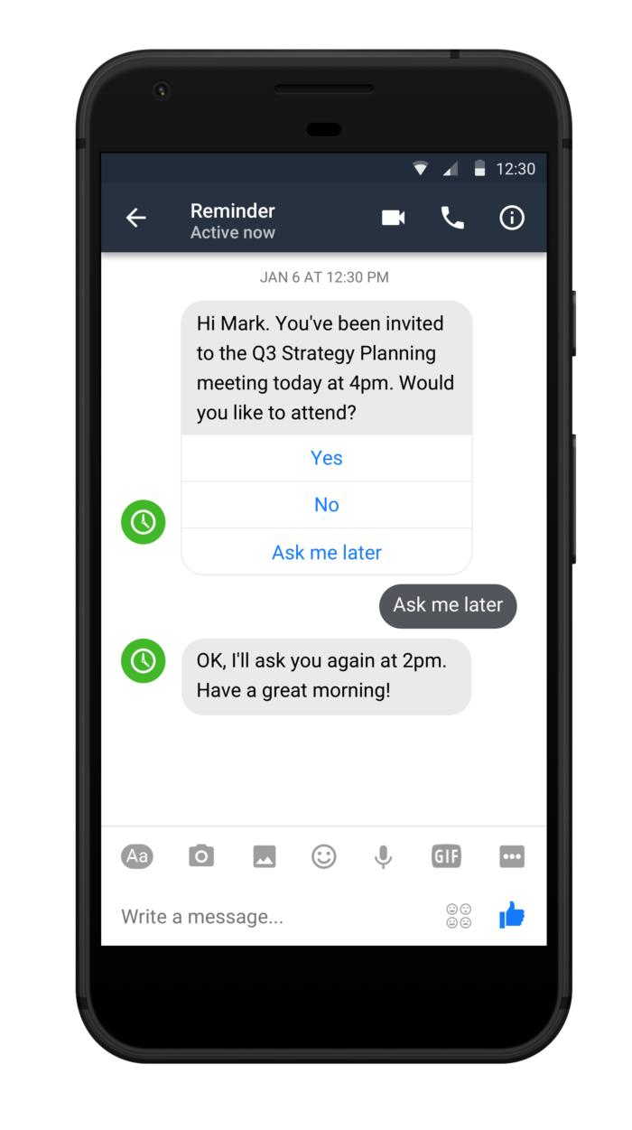 workplace work chat bots android