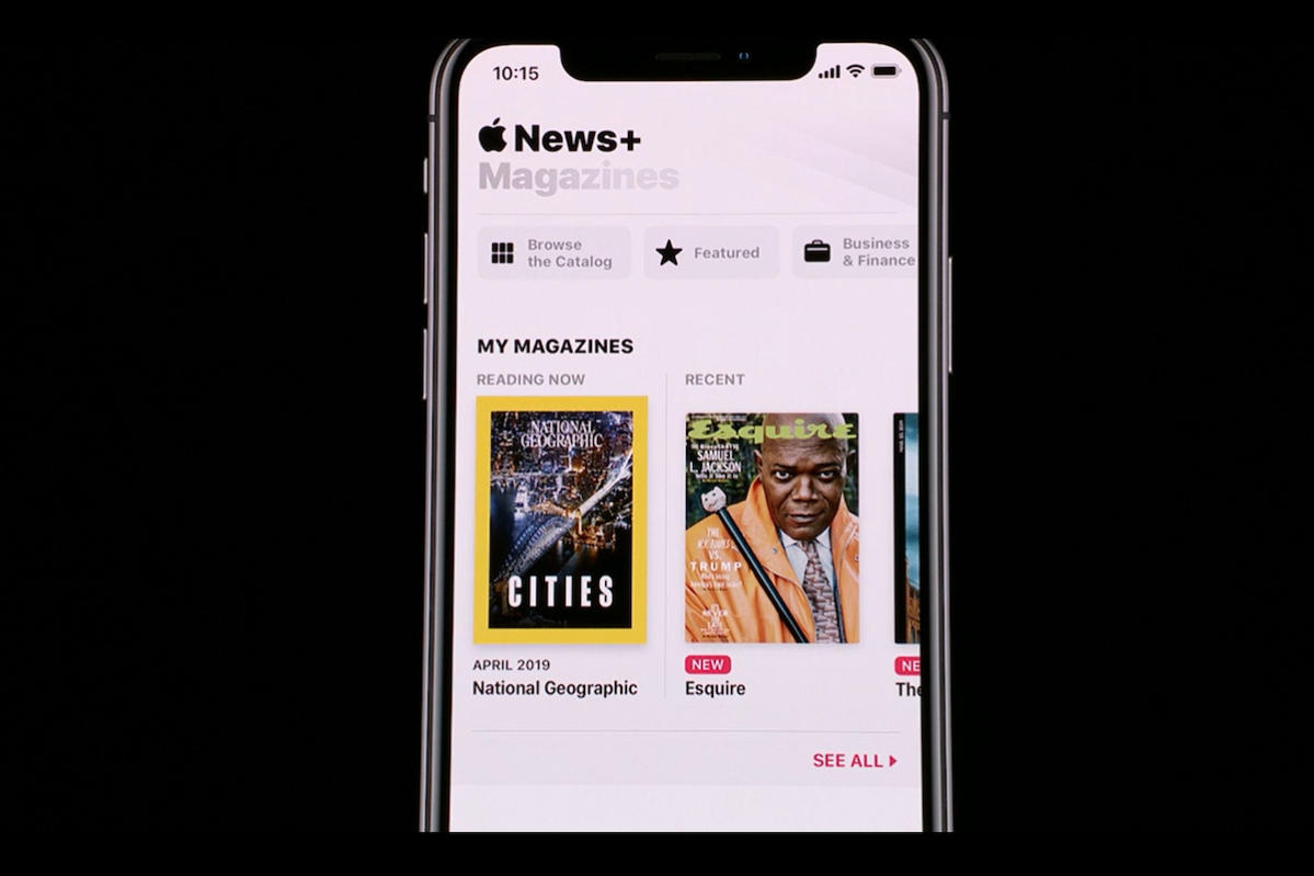 apple news downloaded
