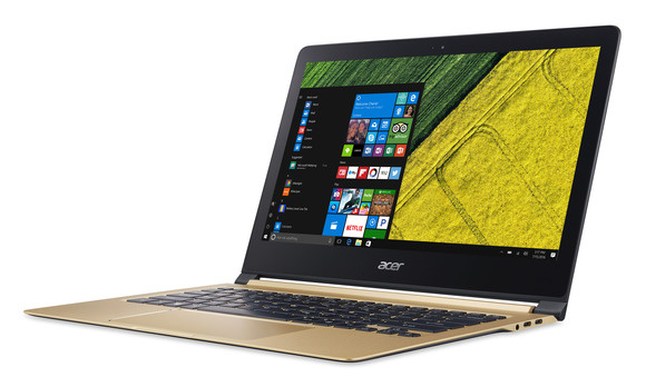 acer swift 7 front 3qtr view