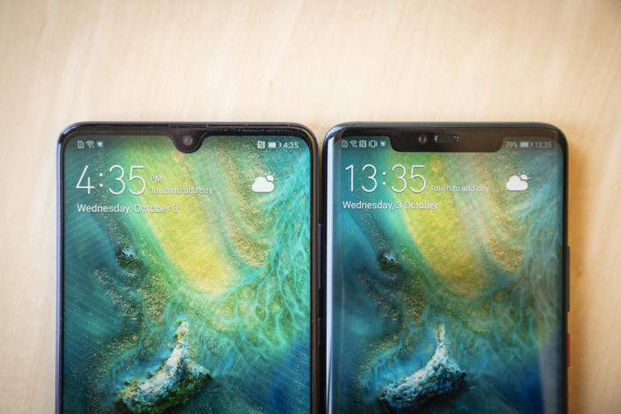 mate 20 notch