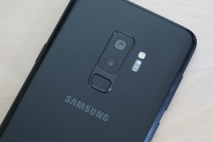 samsung galaxy s9 biometrics fingerprint