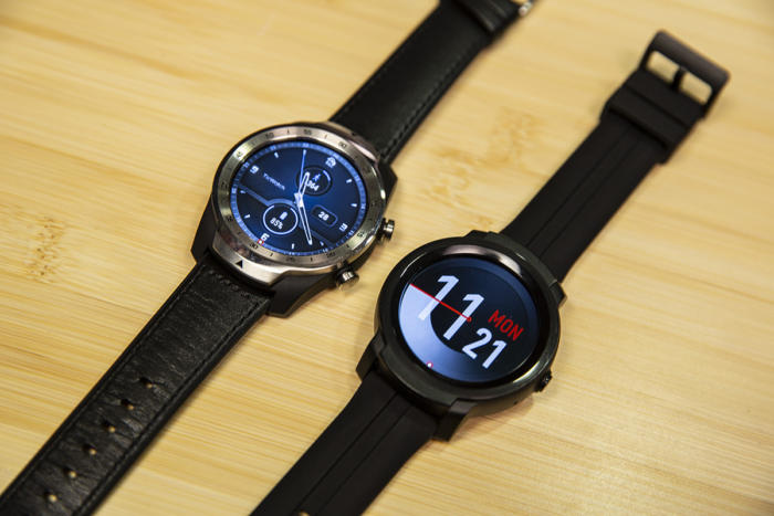 mobvoi ticwatch e2 compare