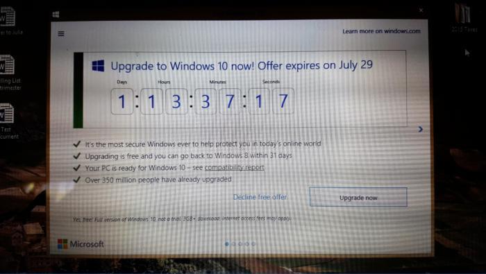 windows 10 countdown clock