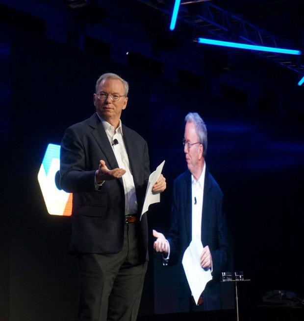 google exec chair Eric Schmidt