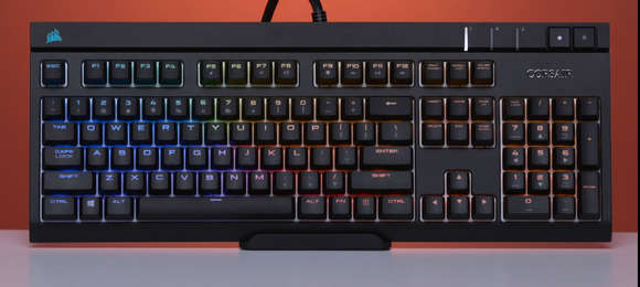 pc gamer gifts corsair strafe 2