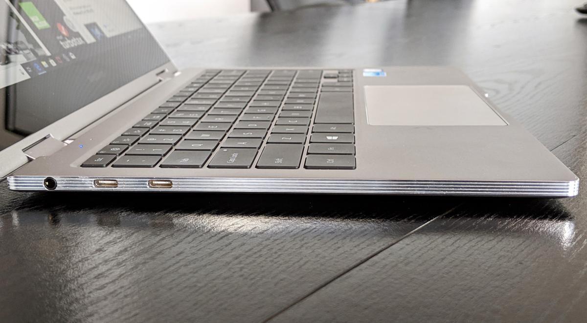 Samsung Notebook 9 Pro left side ports
