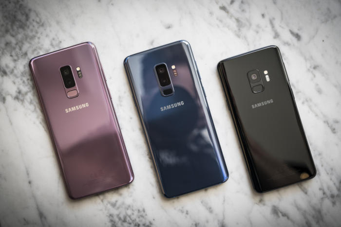 galaxy s9 color range