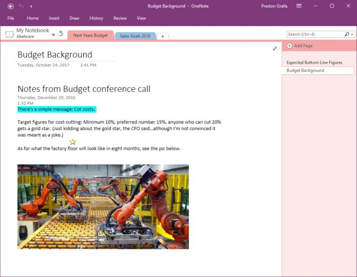Microsoft OneNote - Windows app