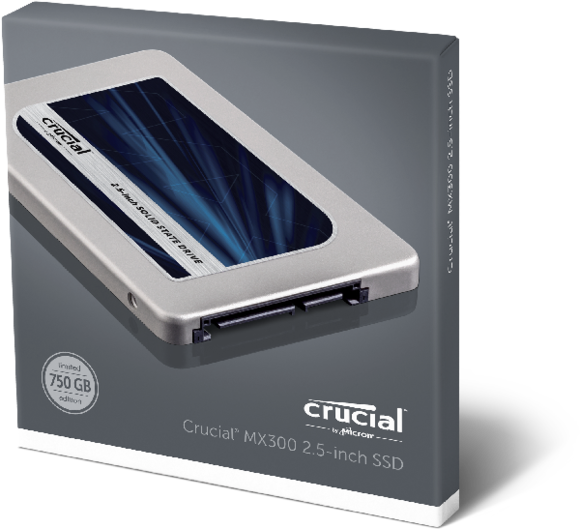 crucial mx300ssd 25in 750gb ssd box front