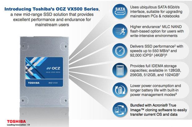 toshiba vx500 SSD