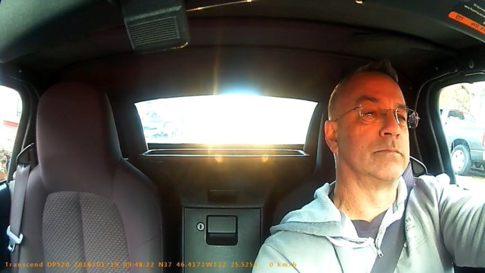 transcend drivepro 520 daylight interior