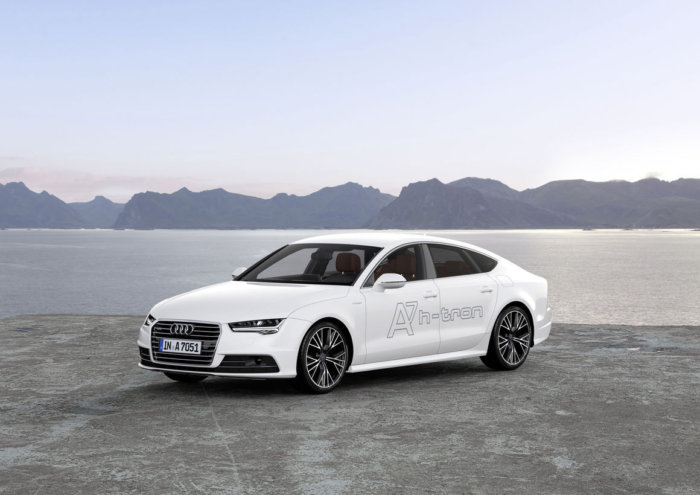 Audi A7 Sportback hydrogen fuel cell