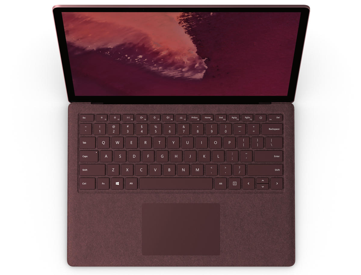 microsoft surface laptop 2 keyboard