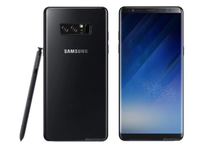 galaxy note 8 leak
