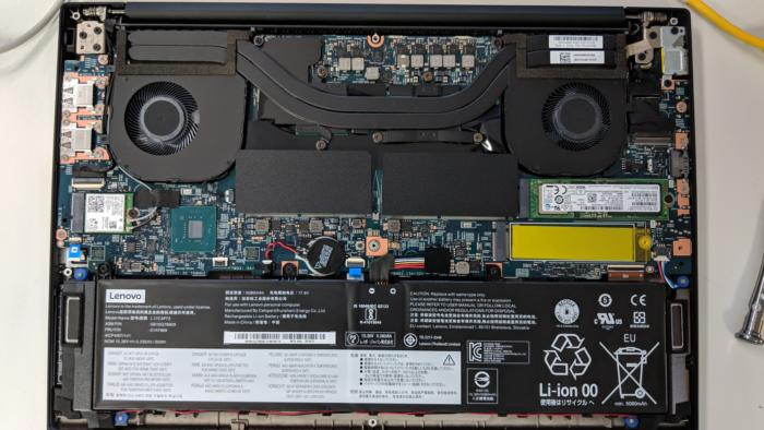 lenovo thinkpad extreme x1 inside