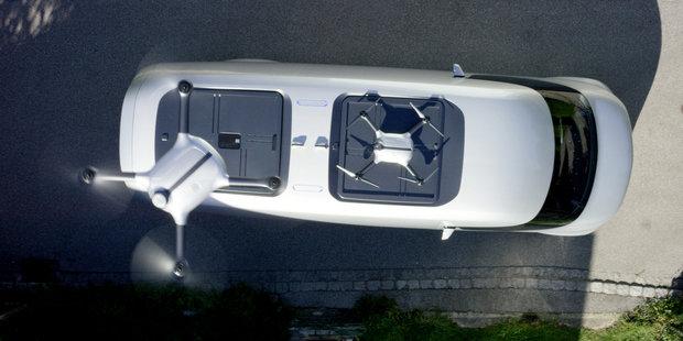 Mercedes-Benz drone van