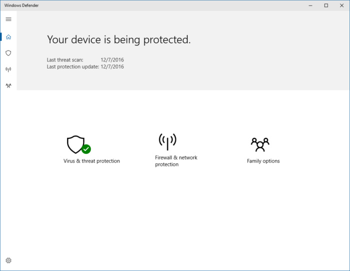 windows 10 defender dashboard
