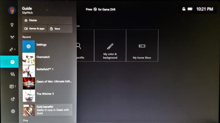 Windows 10 Creators Update Xbox One Guide