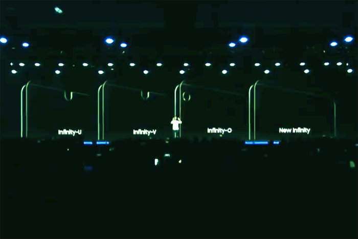 samsung infinity displays