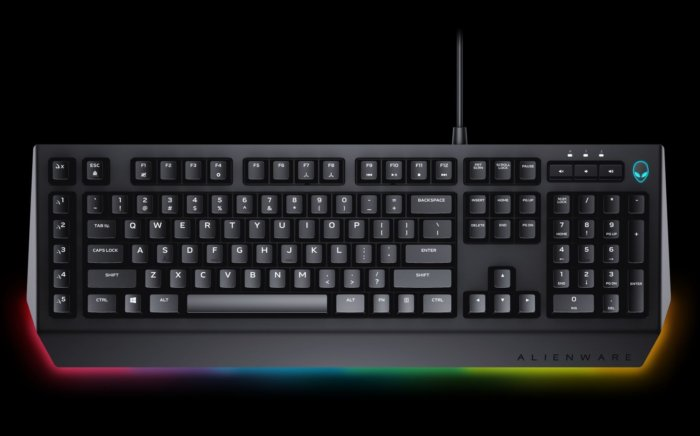 alienware advanced keyboard