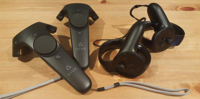 Vive vs Oculus Touch