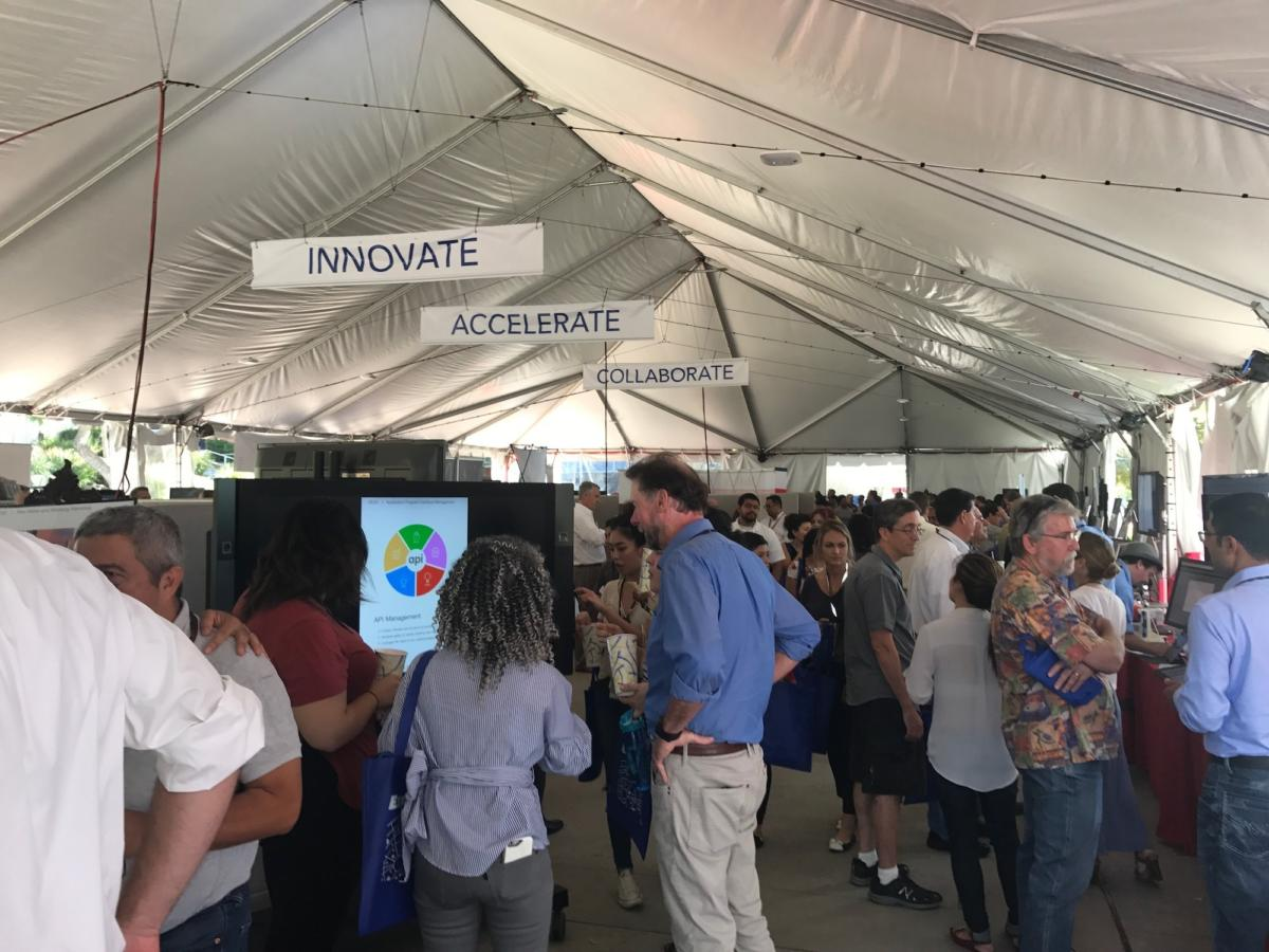 jpl it expo under the big tent