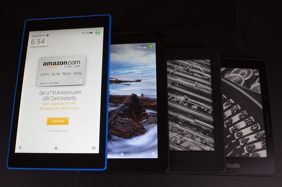 Amazon Fire tablets and Kindle e-readers