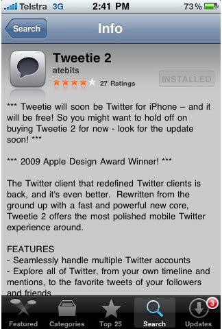How to access Twitter with a mobile phone