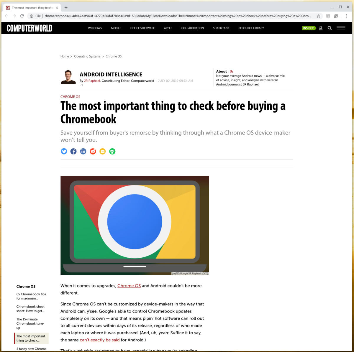 06 chromebook offline web pages