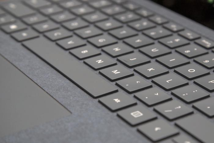 surface laptop keyboard