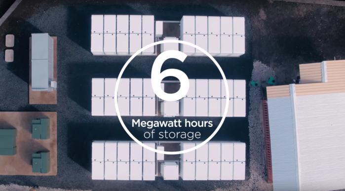 Tesla Powerpack SolarCity