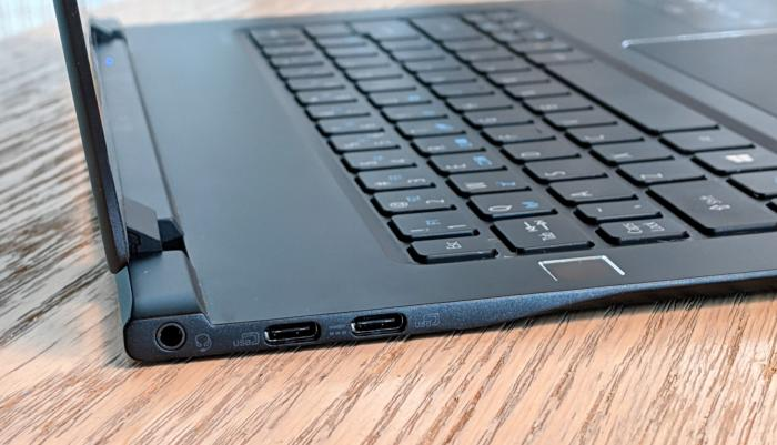 Acer Swift 7 usb c ports