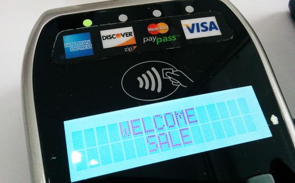 NFC payment terminal