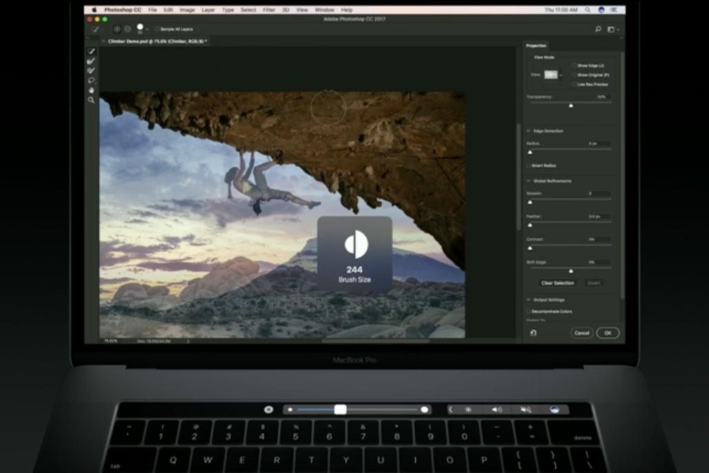 photoshop touch bar 3
