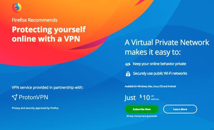 Firefox VPN