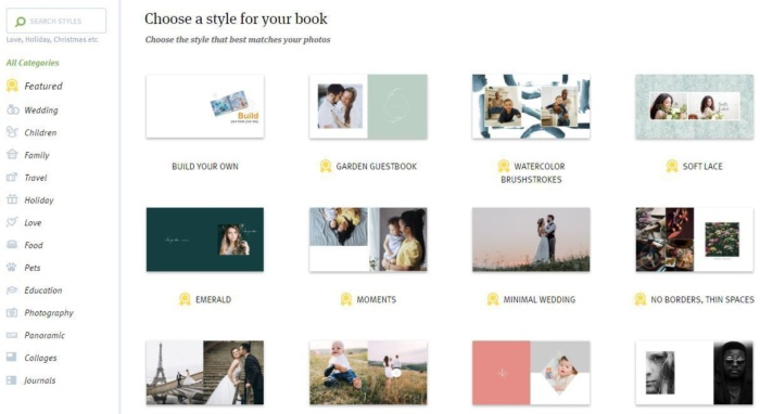 photo book themes adoramapix